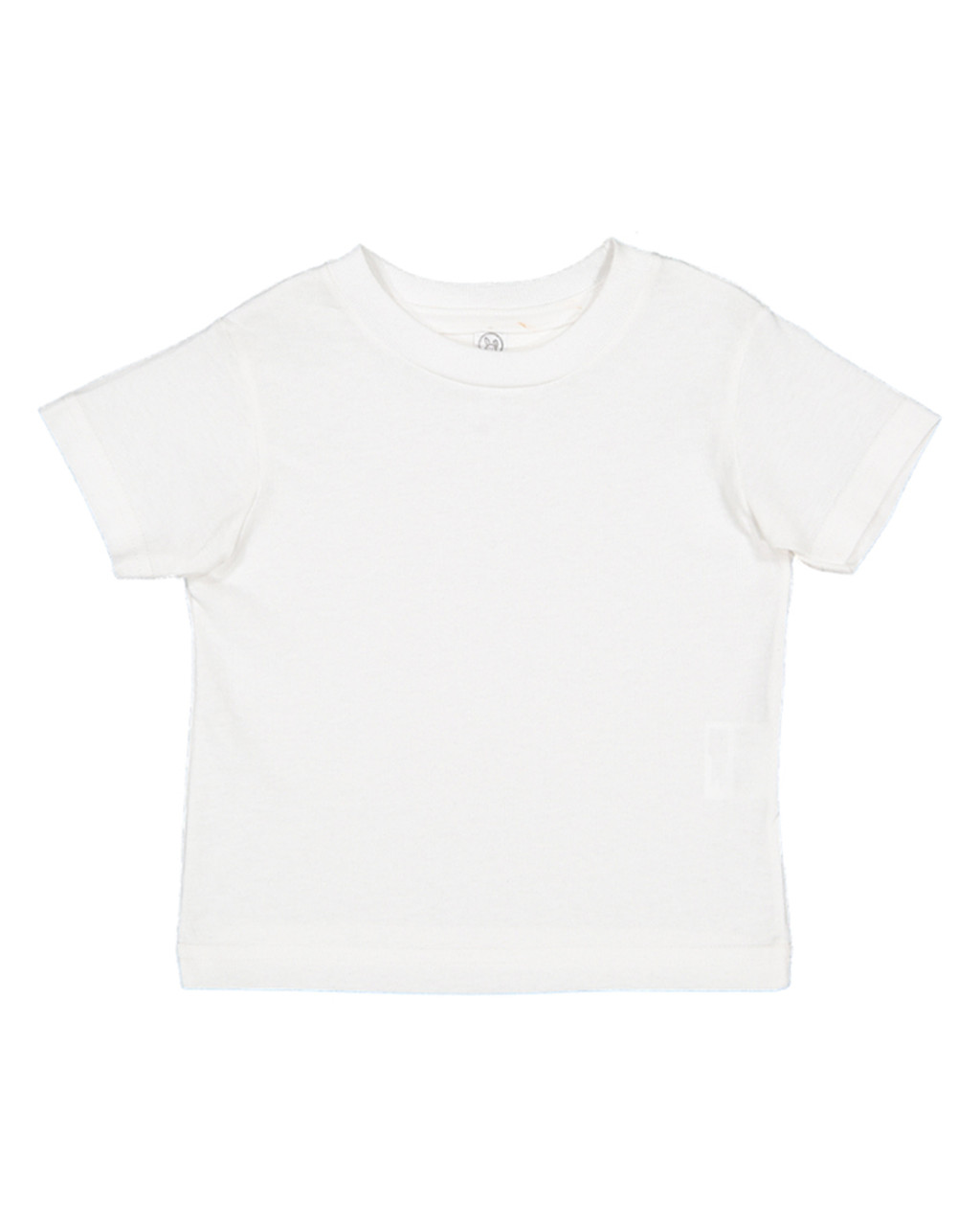 White - 3321 Rabbit Skins Toddler Fine Jersey T-Shirt  | BlankClothing.ca