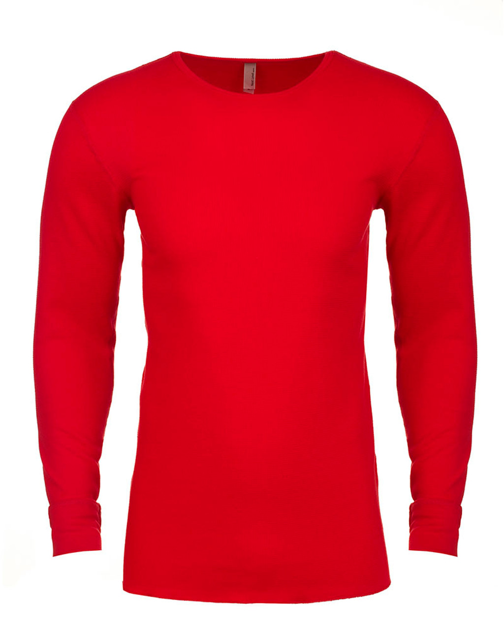 Red - N8201 Next Level Adult Long-Sleeve Thermal | BlankClothing.ca