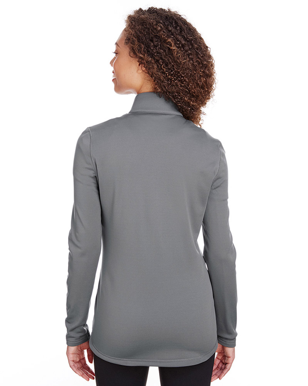 Quiet Shade - back, 597160 Puma Golf Ladies' Fairway Full-Zip Sweatshirt | Blankclothing.ca