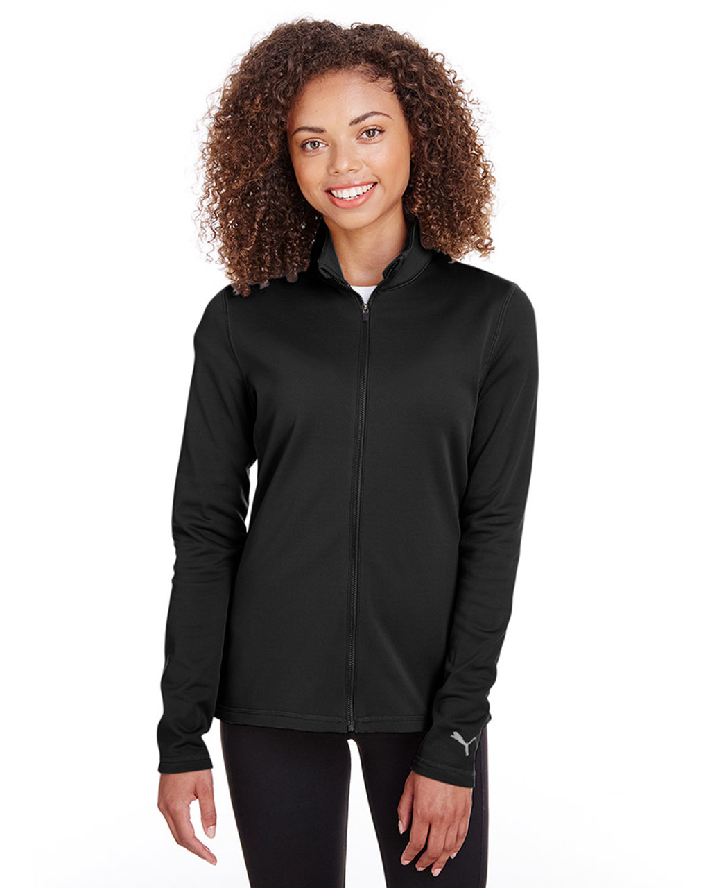Puma Black - 597160 Puma Golf Ladies' Fairway Full-Zip Sweatshirt | Blankclothing.ca