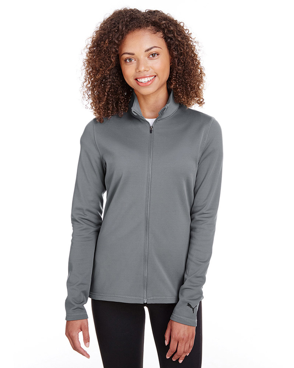 Quiet Shade - 597160 Puma Golf Ladies' Fairway Full-Zip Sweatshirt | Blankclothing.ca
