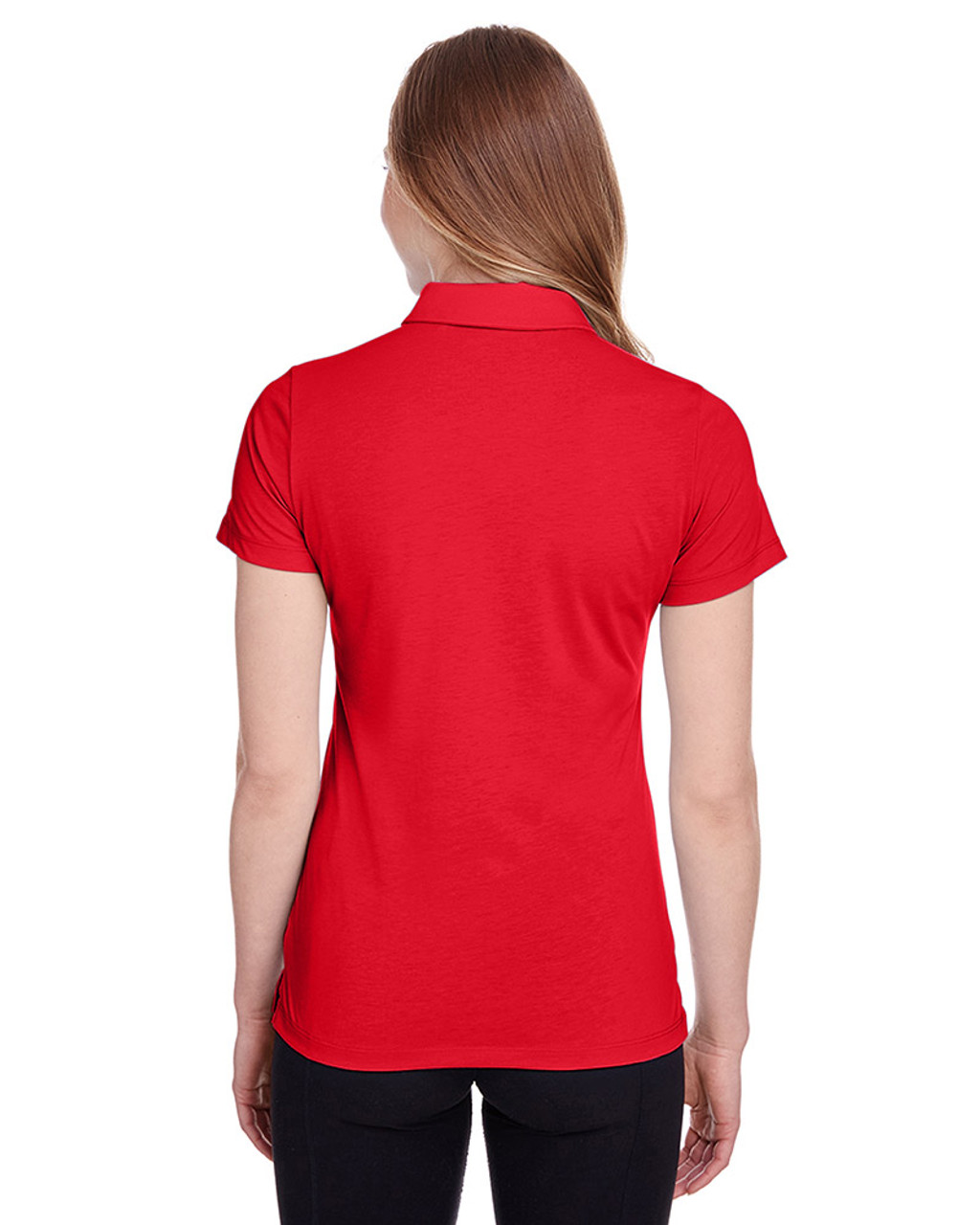 High Risk Red - back, 596921 Puma Golf Ladies' Fusion Polo | Blankclothing.ca