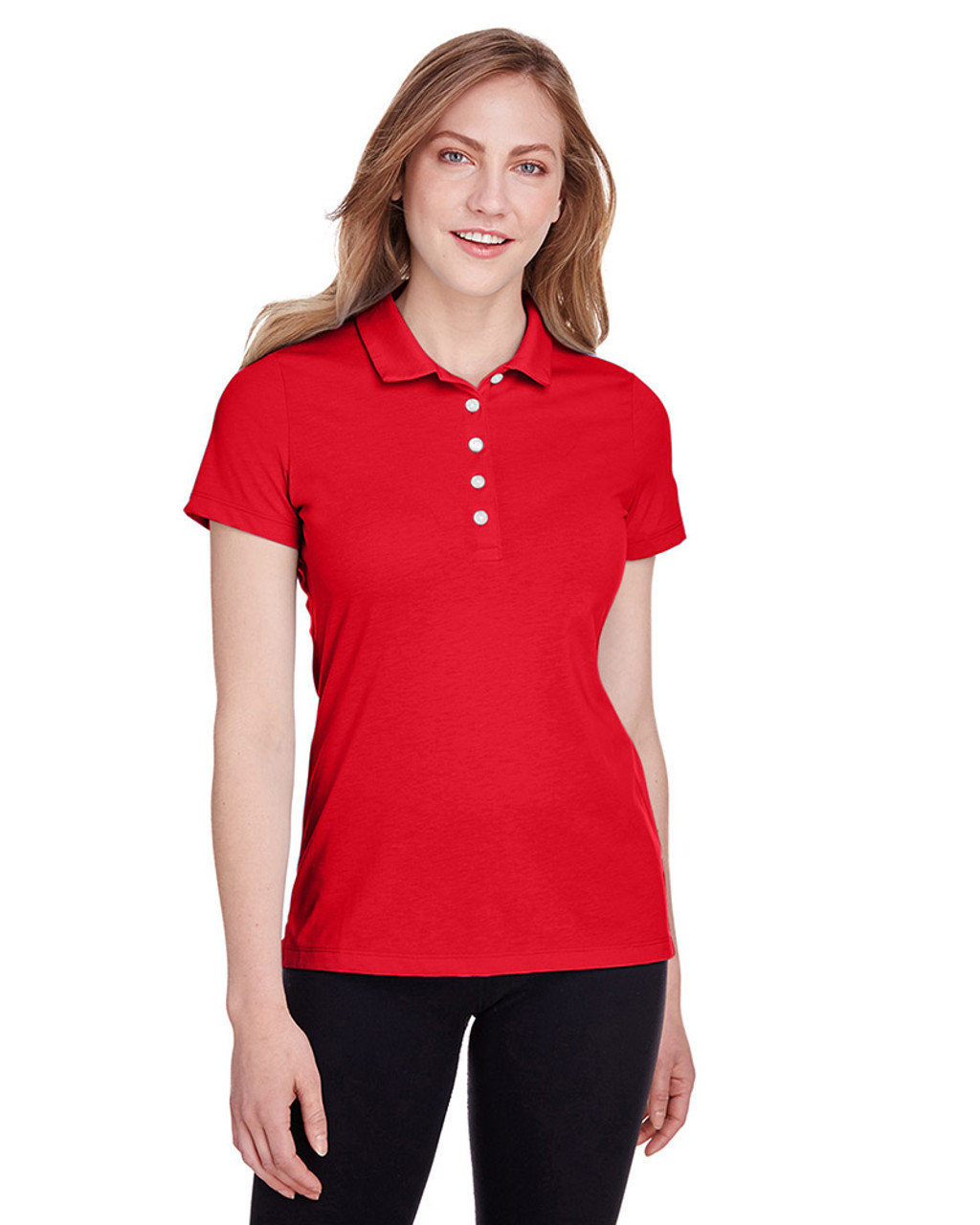 High Risk Red - 596921 Puma Golf Ladies' Fusion Polo | Blankclothing.ca