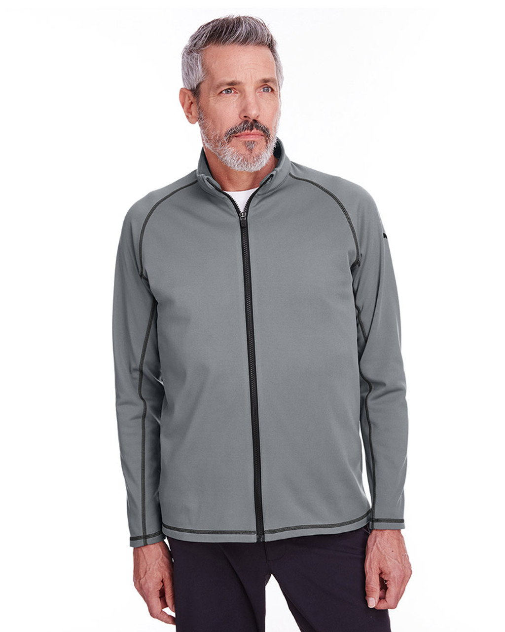 Quiet Shade - 596806 Puma Golf Men's Fairway Full-Zip Sweatshirt | Blankclothing.ca