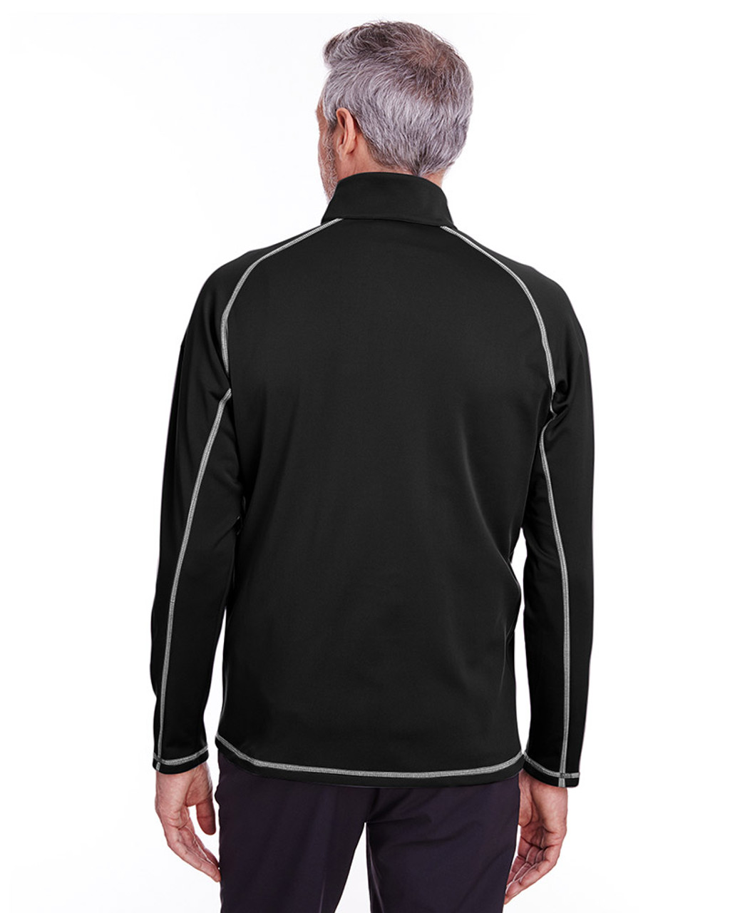 Puma Black - 596806 Puma Golf Men's Fairway Full-Zip Sweatshirt | Blankclothing.ca