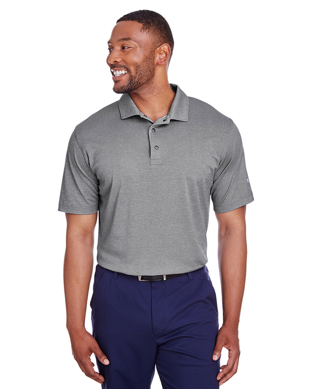 Puma Black Heather - 597220 Puma Golf Men's Grill-To-Green Polo | Blankclothing.ca