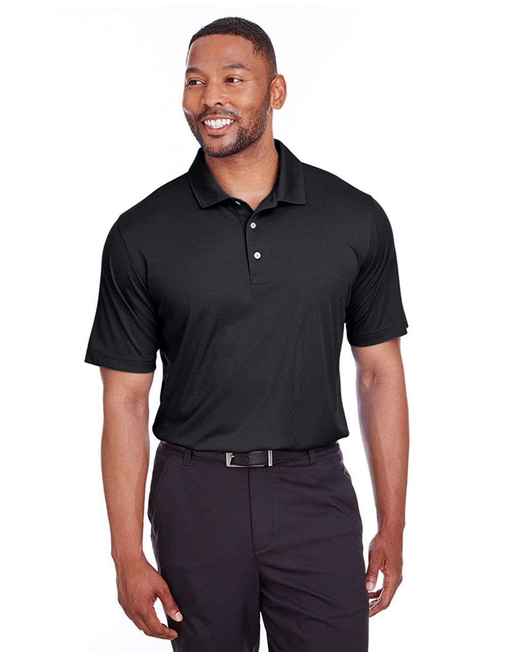 Puma Black - 596799 Puma Golf Men's Icon Golf Polo | Blankclothing.ca