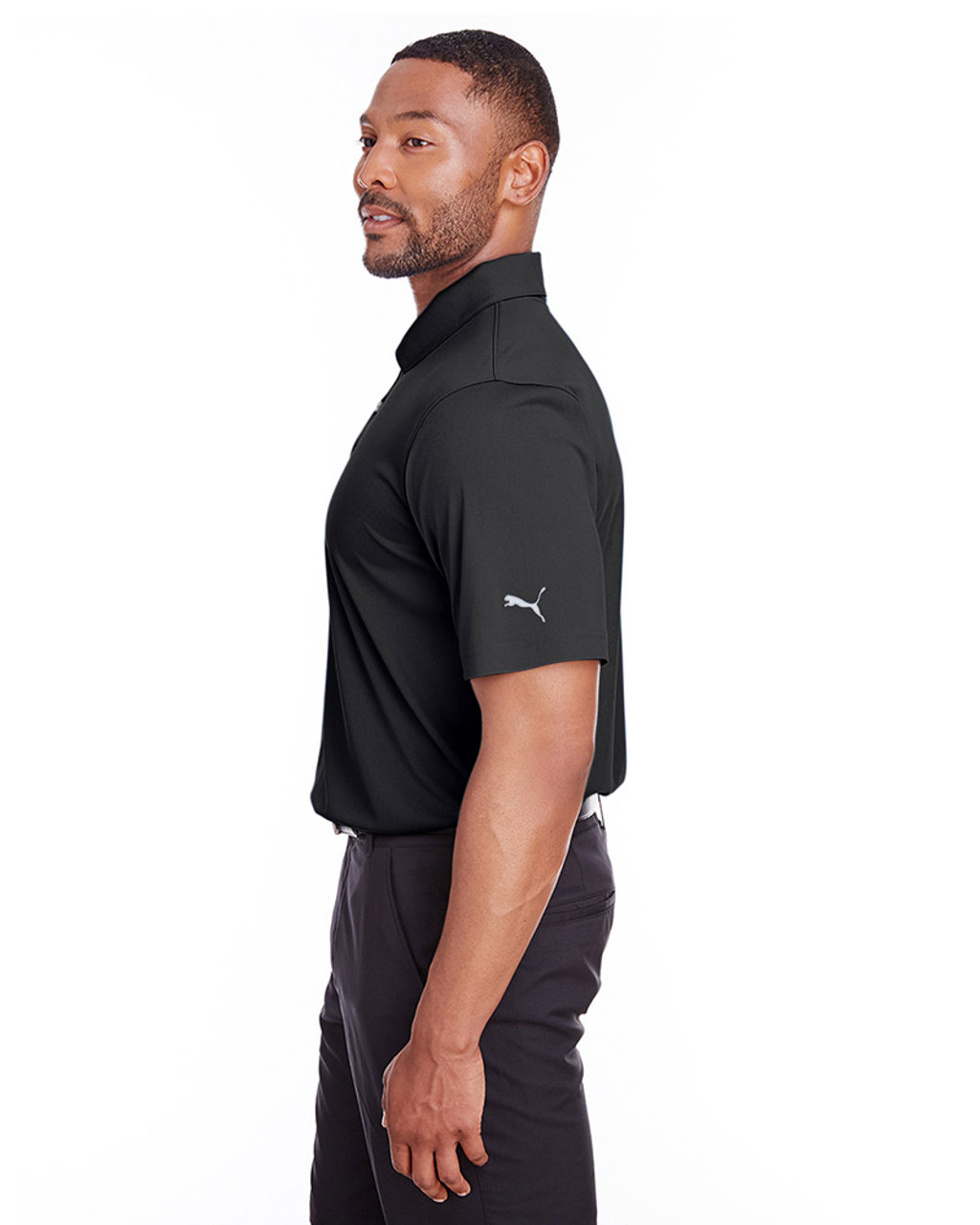 Puma Black - side, 596799 Puma Golf Men's Icon Golf Polo | Blankclothing.ca