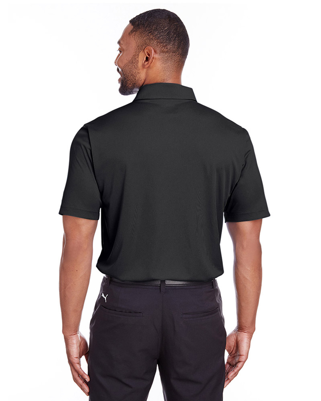 Puma Black - back, 596799 Puma Golf Men's Icon Golf Polo | Blankclothing.ca