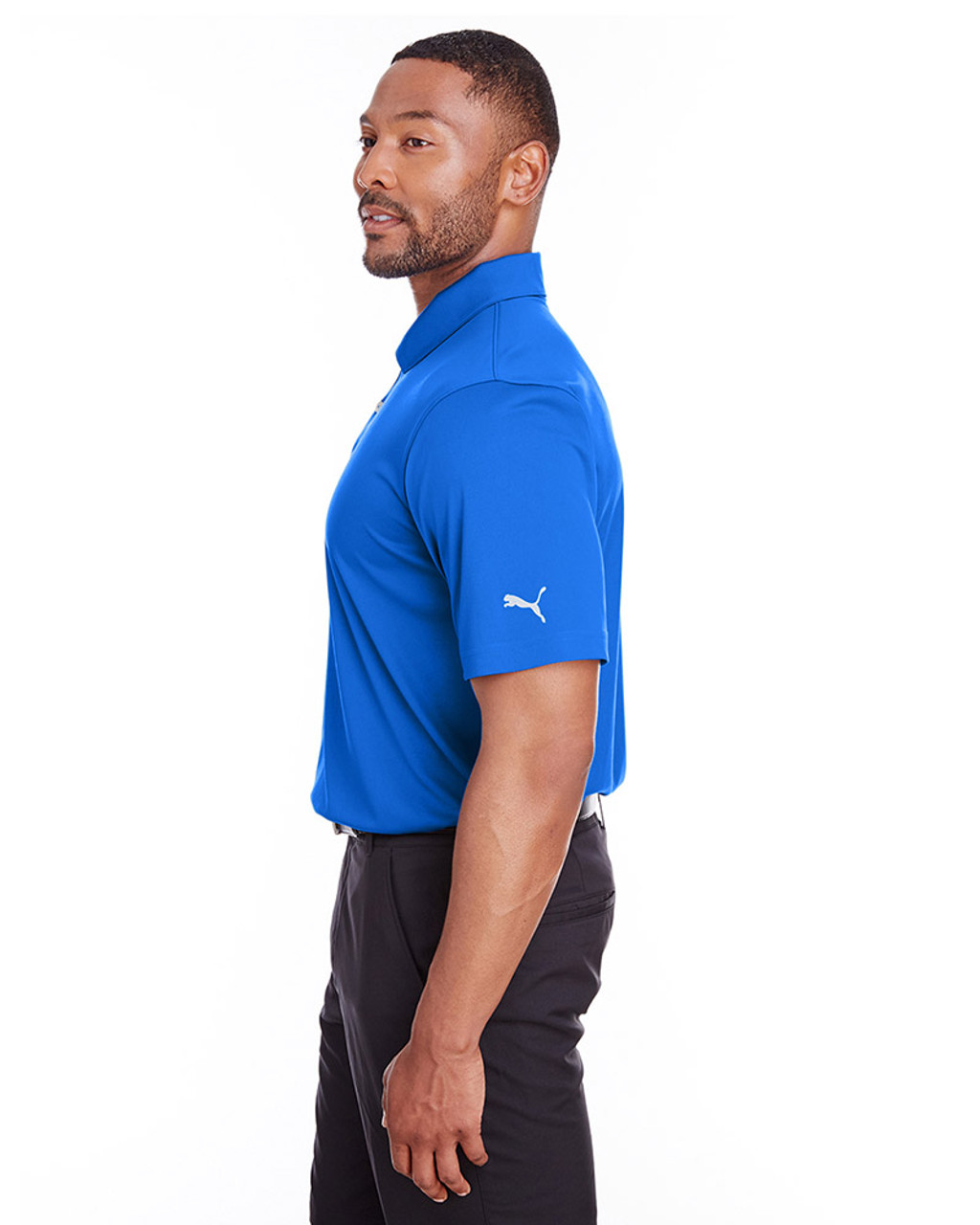 Lapis Blue - side, 596799 Puma Golf Men's Icon Golf Polo | Blankclothing.ca
