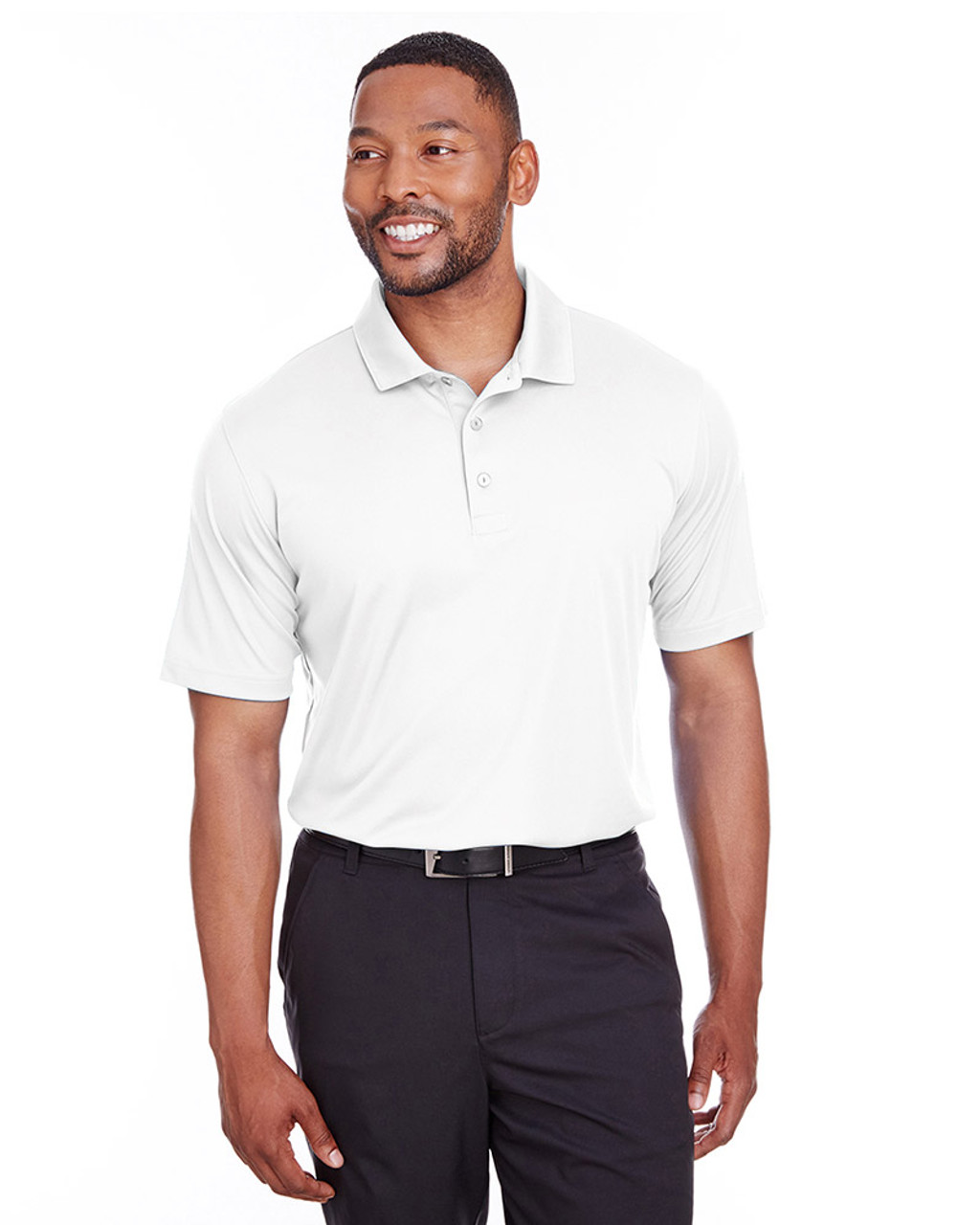 Bright White - 596799 Puma Golf Men's Icon Golf Polo | Blankclothing.ca