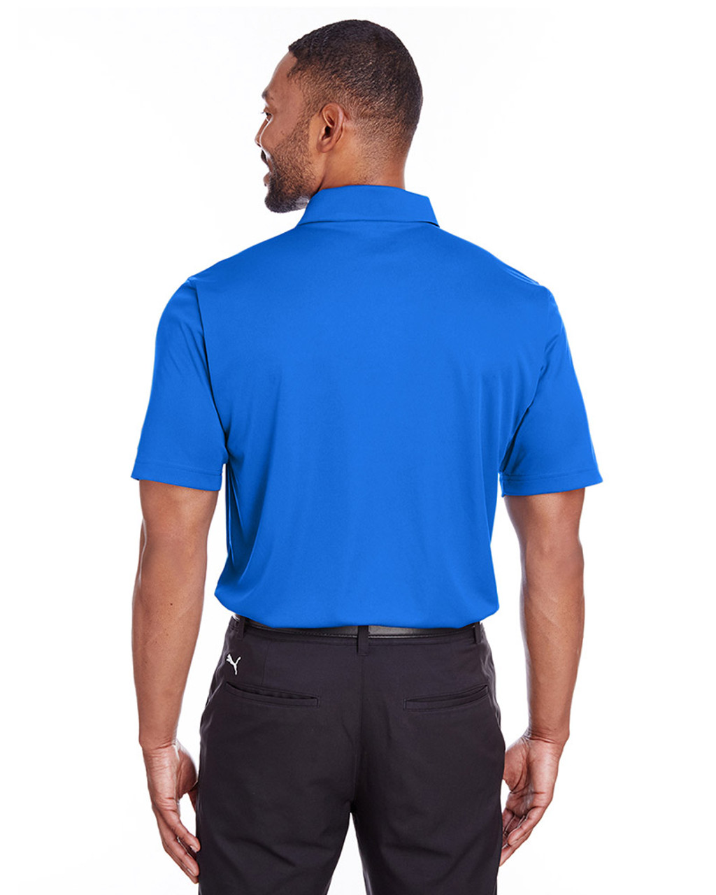 Lapis Blue - back, 596799 Puma Golf Men's Icon Golf Polo | Blankclothing.ca