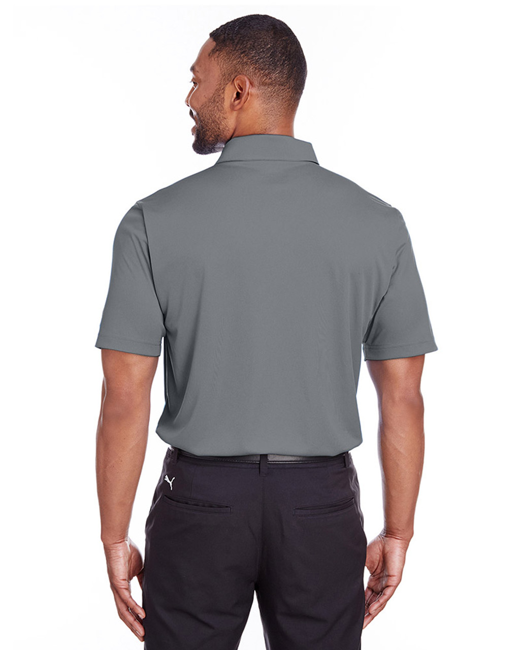 Quiet Shade - back, 596799 Puma Golf Men's Icon Golf Polo | Blankclothing.ca