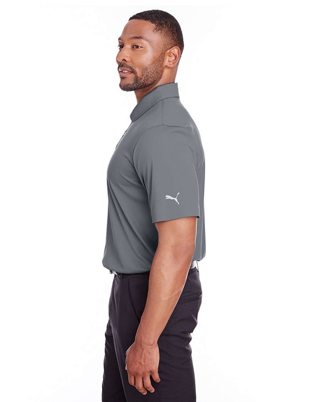 Quiet Shade - side, 596799 Puma Golf Men's Icon Golf Polo | Blankclothing.ca