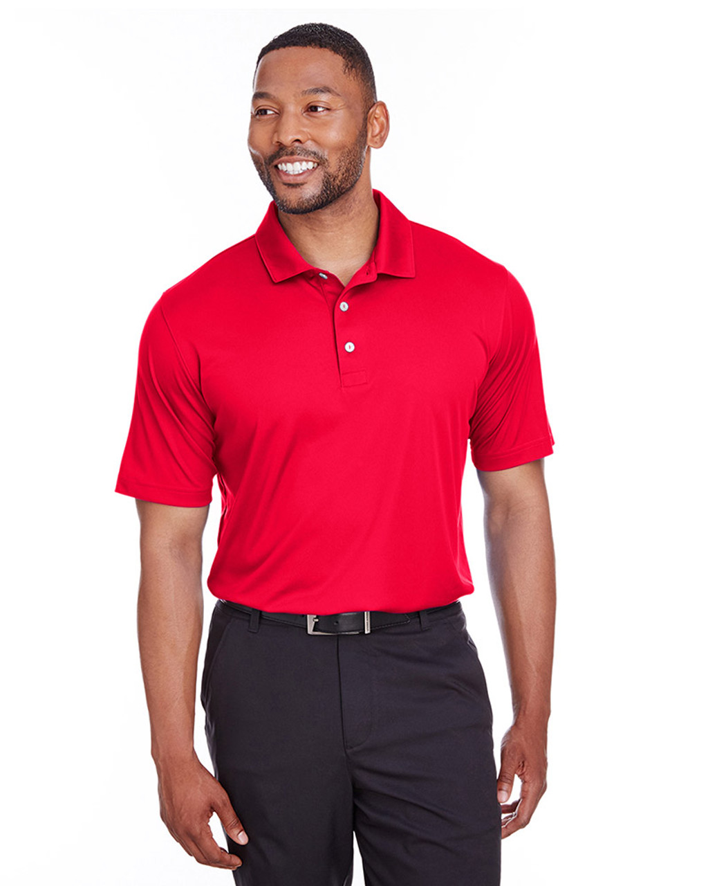 High Risk Red - 596799 Puma Golf Men's Icon Golf Polo | Blankclothing.ca