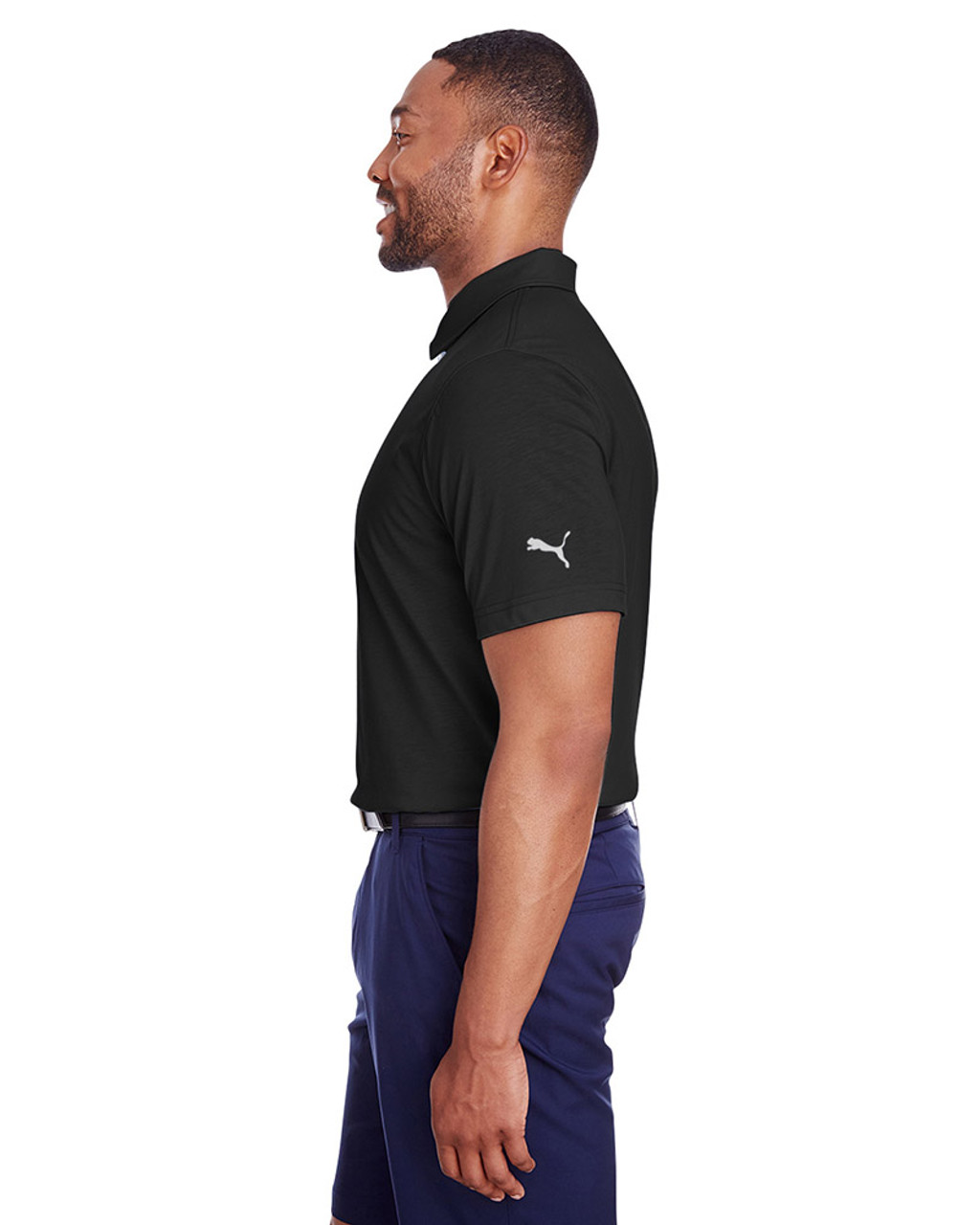 Puma Black - side, 596920 Puma Golf Men's Fusion Polo | Blankclothing.ca