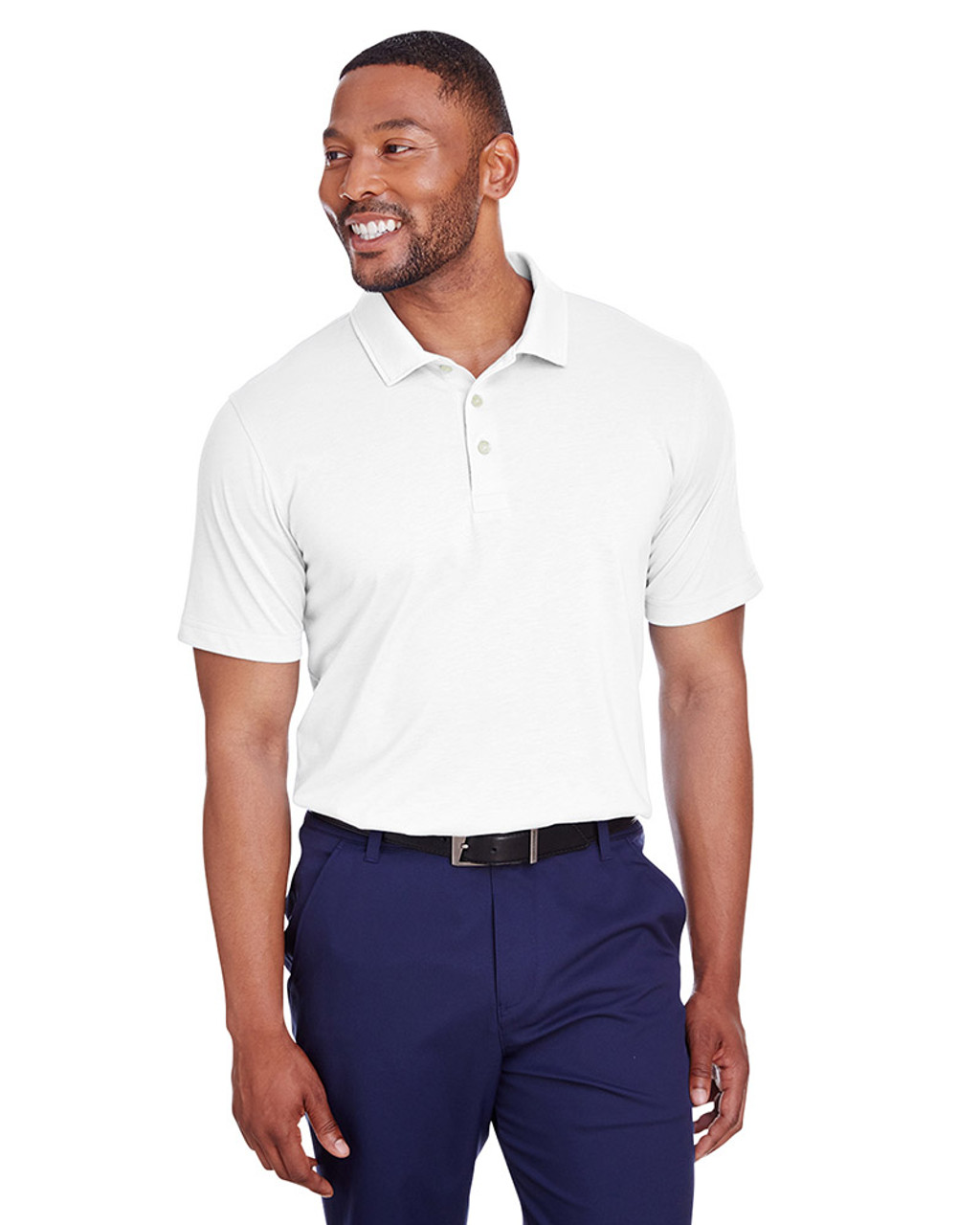 Bright White - 596920 Puma Golf Men's Fusion Polo | Blankclothing.ca
