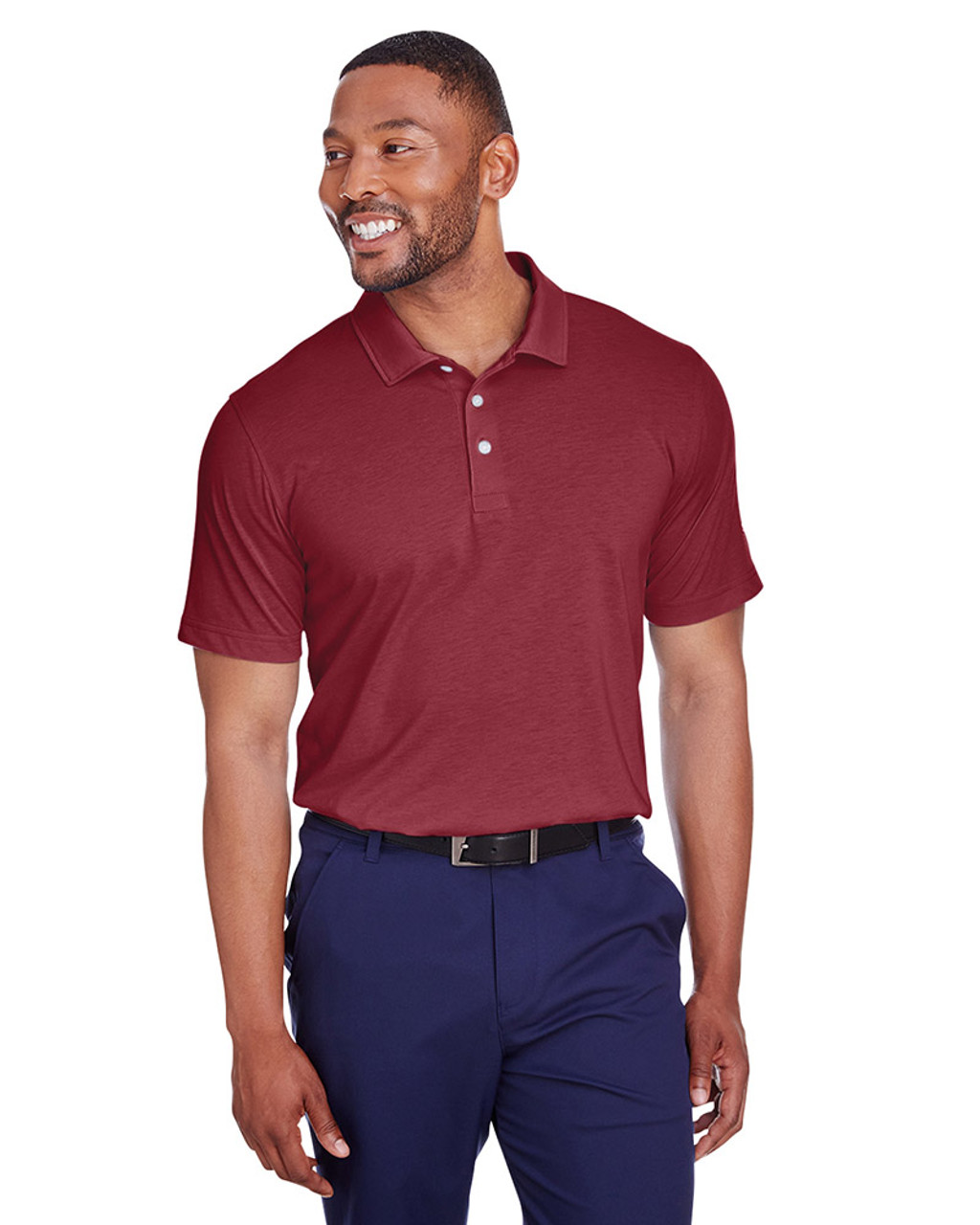 Cabernet - 596920 Puma Golf Men's Fusion Polo | Blankclothing.ca