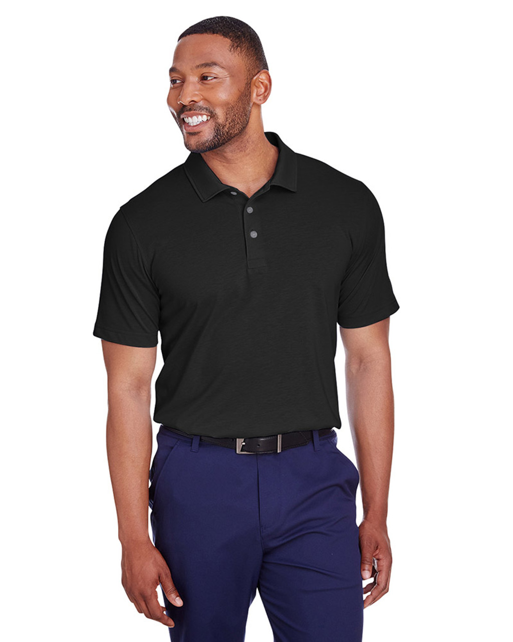 Puma Black - 596920 Puma Golf Men's Fusion Polo | Blankclothing.ca