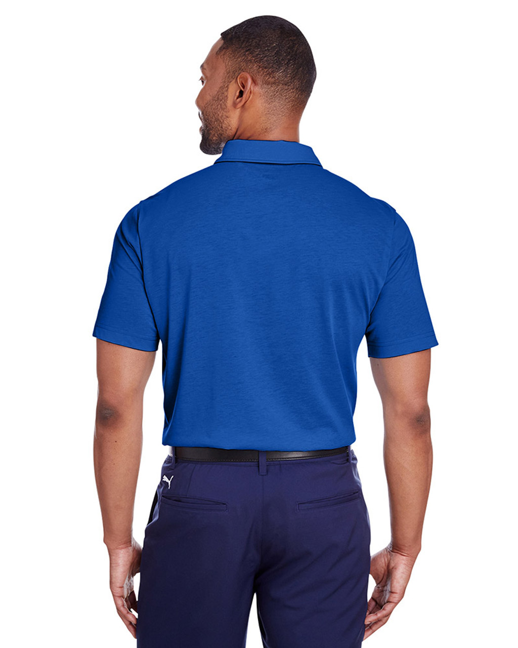 Surf The Web - back, 596920 Puma Golf Men's Fusion Polo | Blankclothing.ca