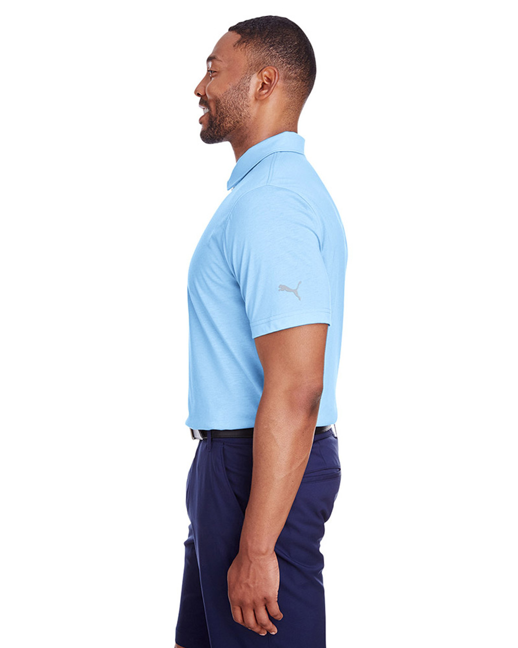 Blue Bell - side, 596920 Puma Golf Men's Fusion Polo | Blankclothing.ca