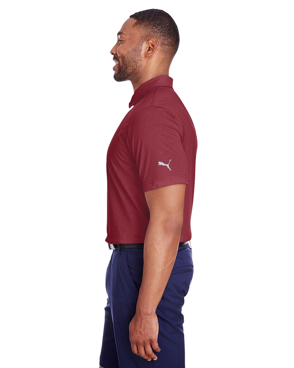 Cabernet - side, 596920 Puma Golf Men's Fusion Polo | Blankclothing.ca