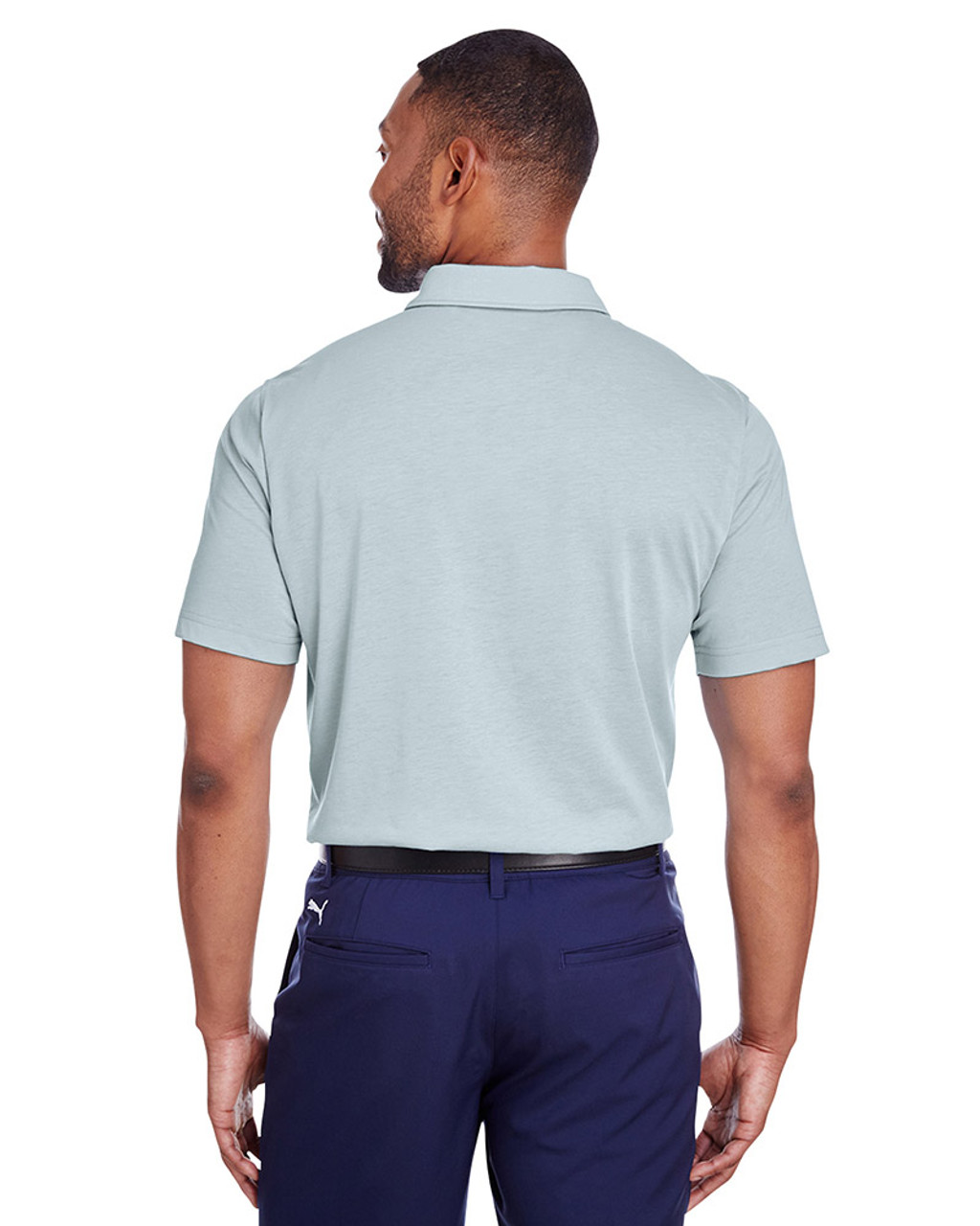Quarry - back, 596920 Puma Golf Men's Fusion Polo | Blankclothing.ca