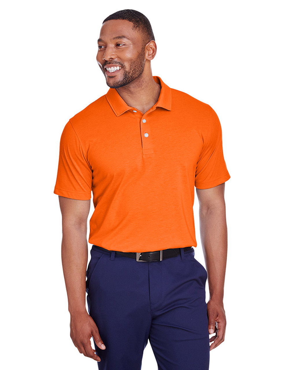 Vibrant Orange - 596920 Puma Golf Men's Fusion Polo | Blankclothing.ca