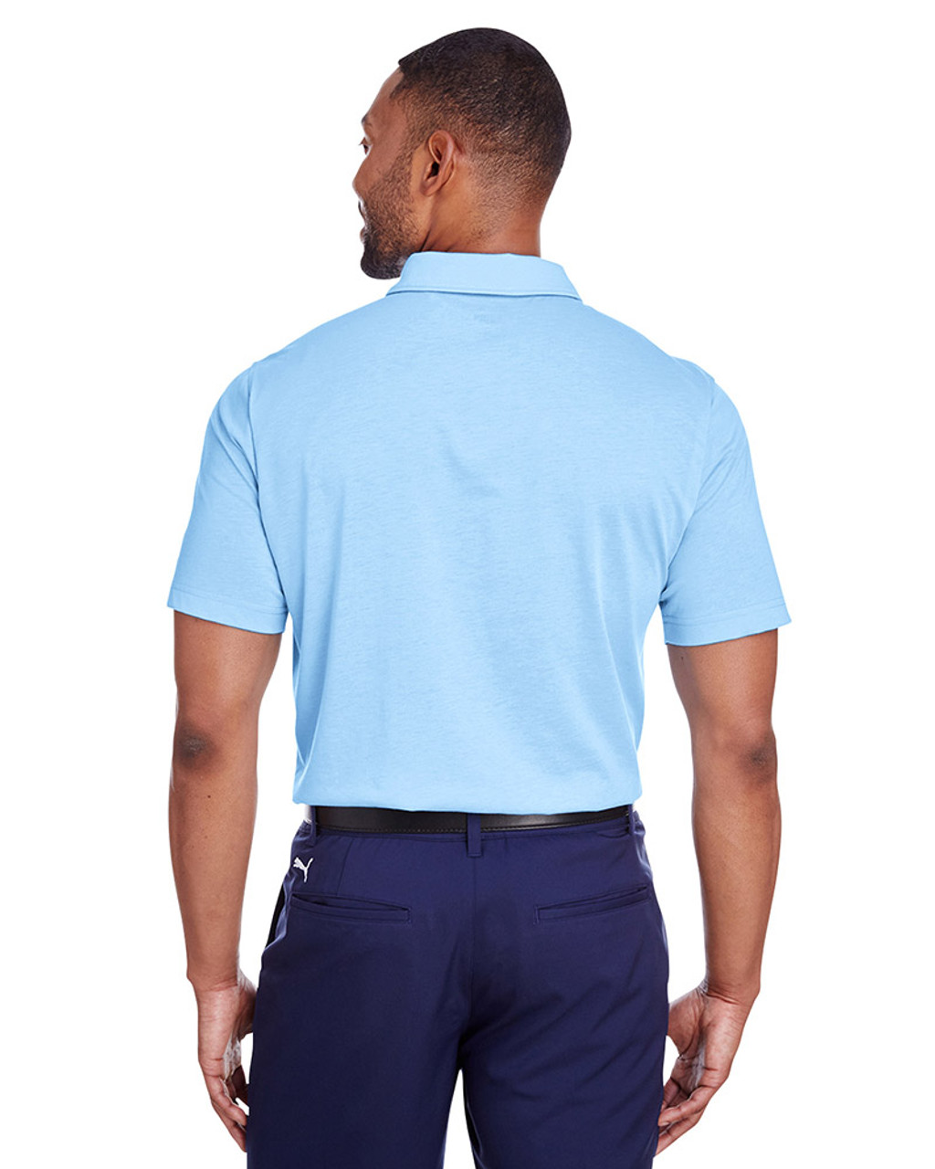 Blue Bell - back, 596920 Puma Golf Men's Fusion Polo | Blankclothing.ca