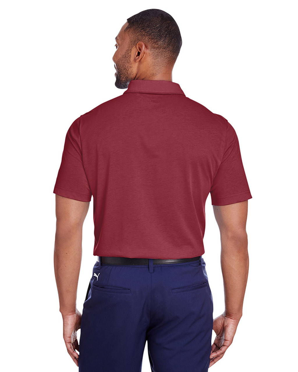 Cabernet - back, 596920 Puma Golf Men's Fusion Polo | Blankclothing.ca