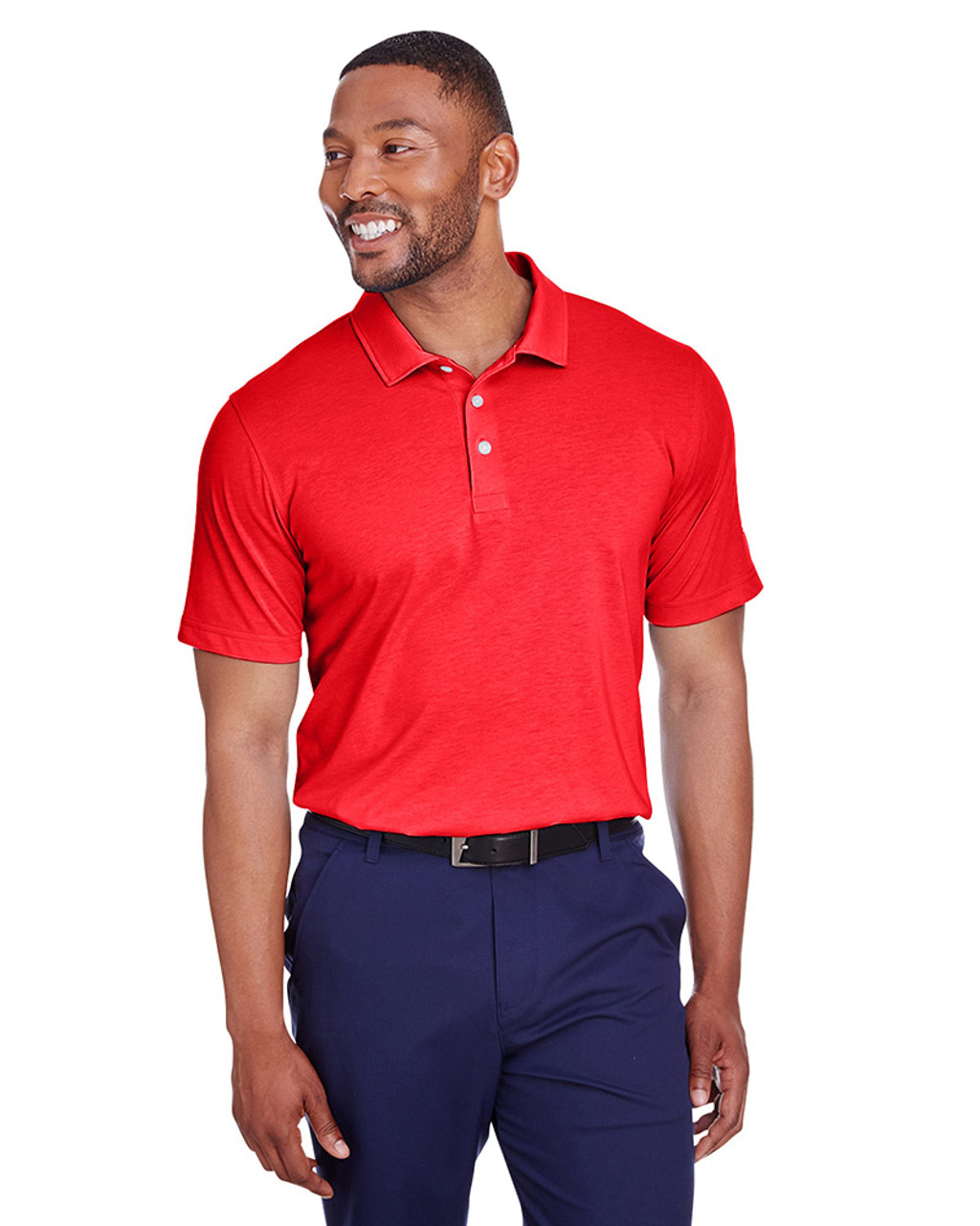 High Risk Red - 596920 Puma Golf Men's Fusion Polo | Blankclothing.ca
