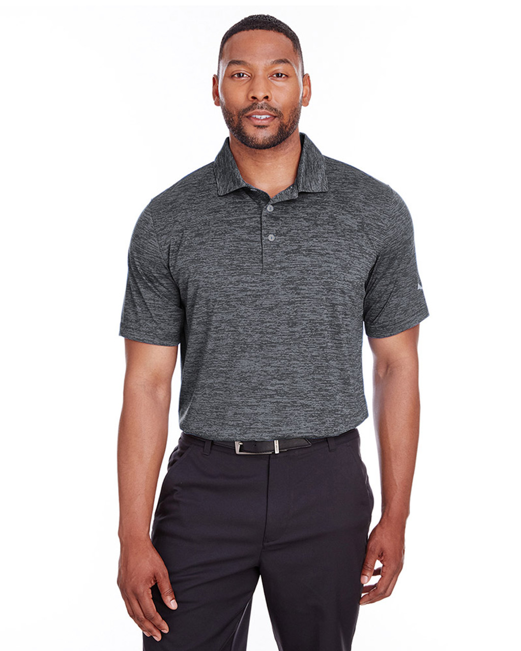 Puma Black - 596801 Puma Golf Men's Icon Heather Polo | Blankclothing.ca