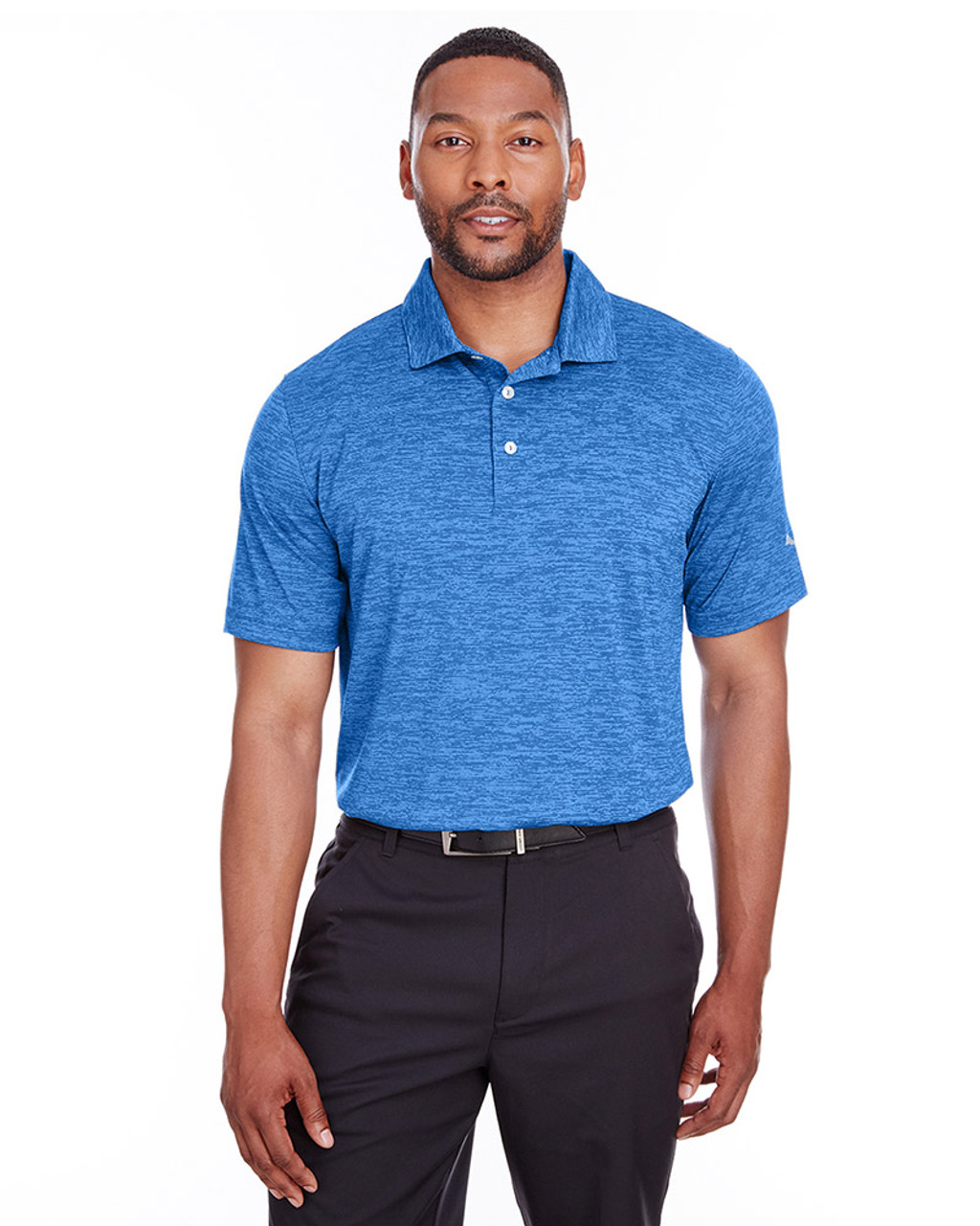 Lapis Blue - 596801 Puma Golf Men's Icon Heather Polo | Blankclothing.ca