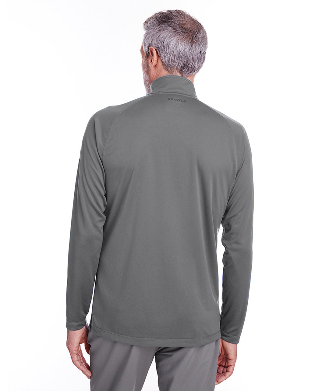 Polar - back, S16797 Spyder Men's Freestyle Half-Zip Pullover Sweatshirt | Blankclothing.ca