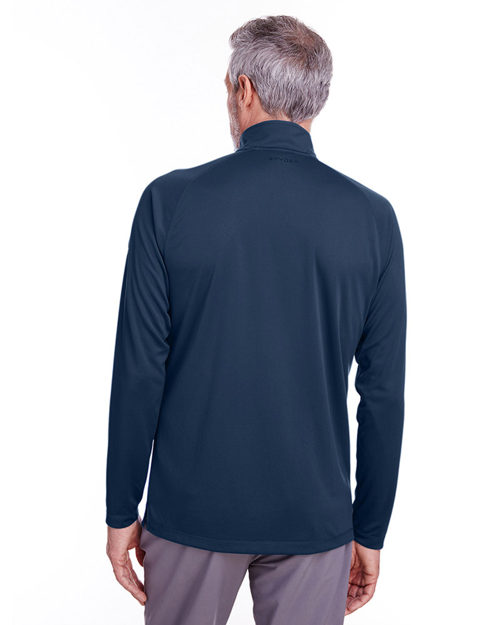 Frontier - back, S16797 Spyder Men's Freestyle Half-Zip Pullover Sweatshirt | Blankclothing.ca