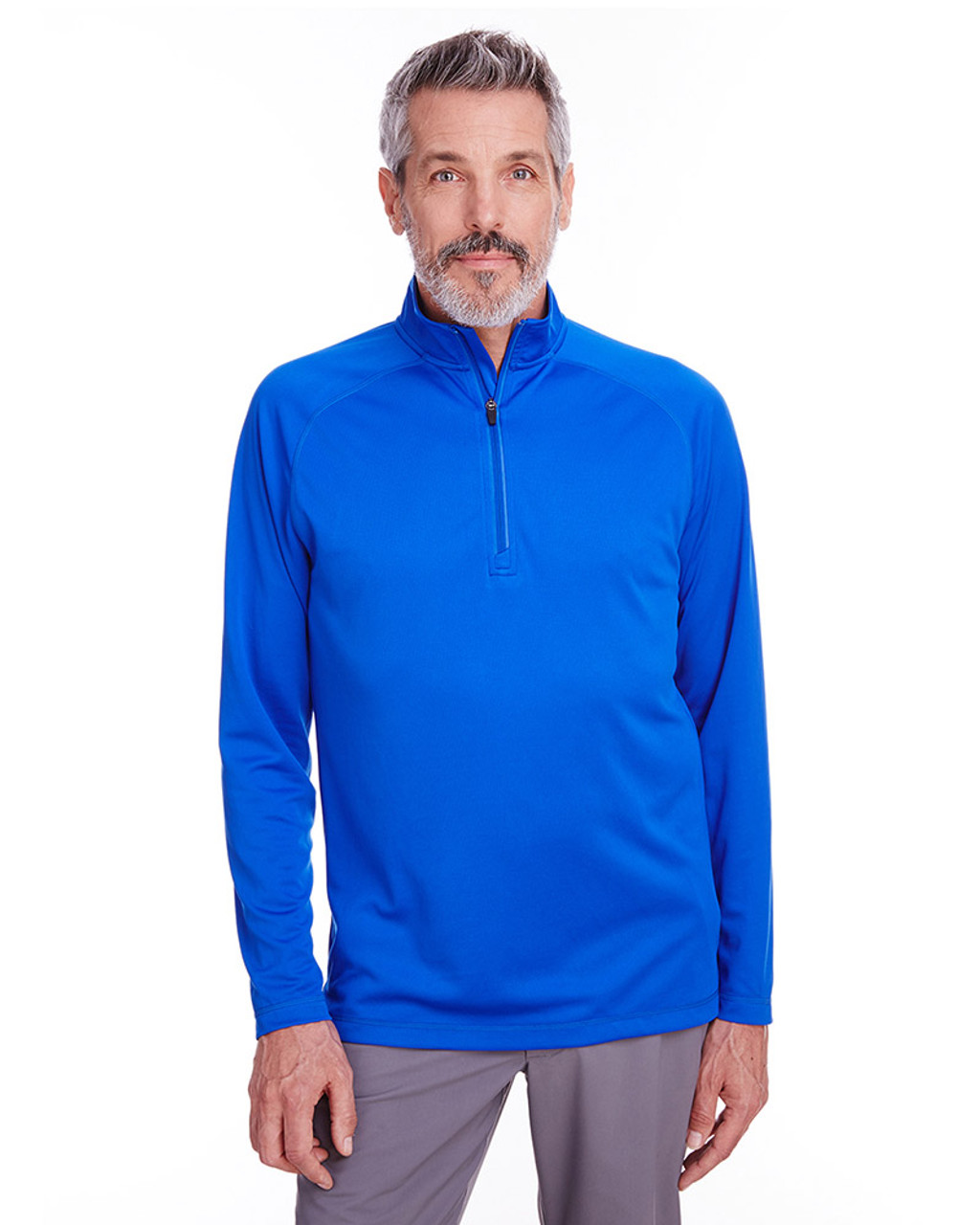 Royal - S16797 Spyder Men's Freestyle Half-Zip Pullover Sweatshirt | Blankclothing.ca