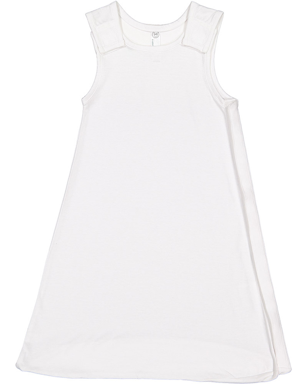 White - 4408 Rabbit Skins Infant Premium Jersey Wearable Blanket | Blankclothing.ca