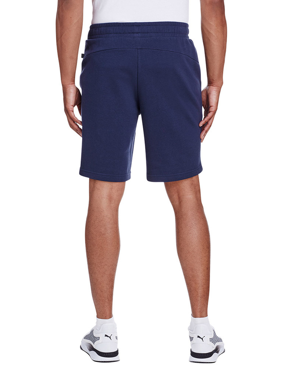 Peacoat/Quiet Shade - back, 582008 Puma Sport Essential Adult Bermuda Short | Blankclothing.ca