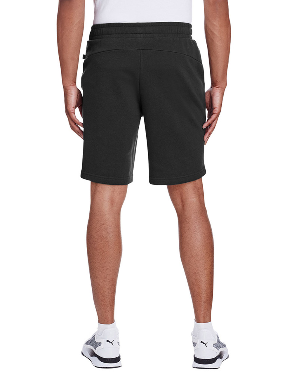 Puma Black/Smoke Pearl - back, 582008 Puma Sport Essential Adult Bermuda Short | Blankclothing.ca