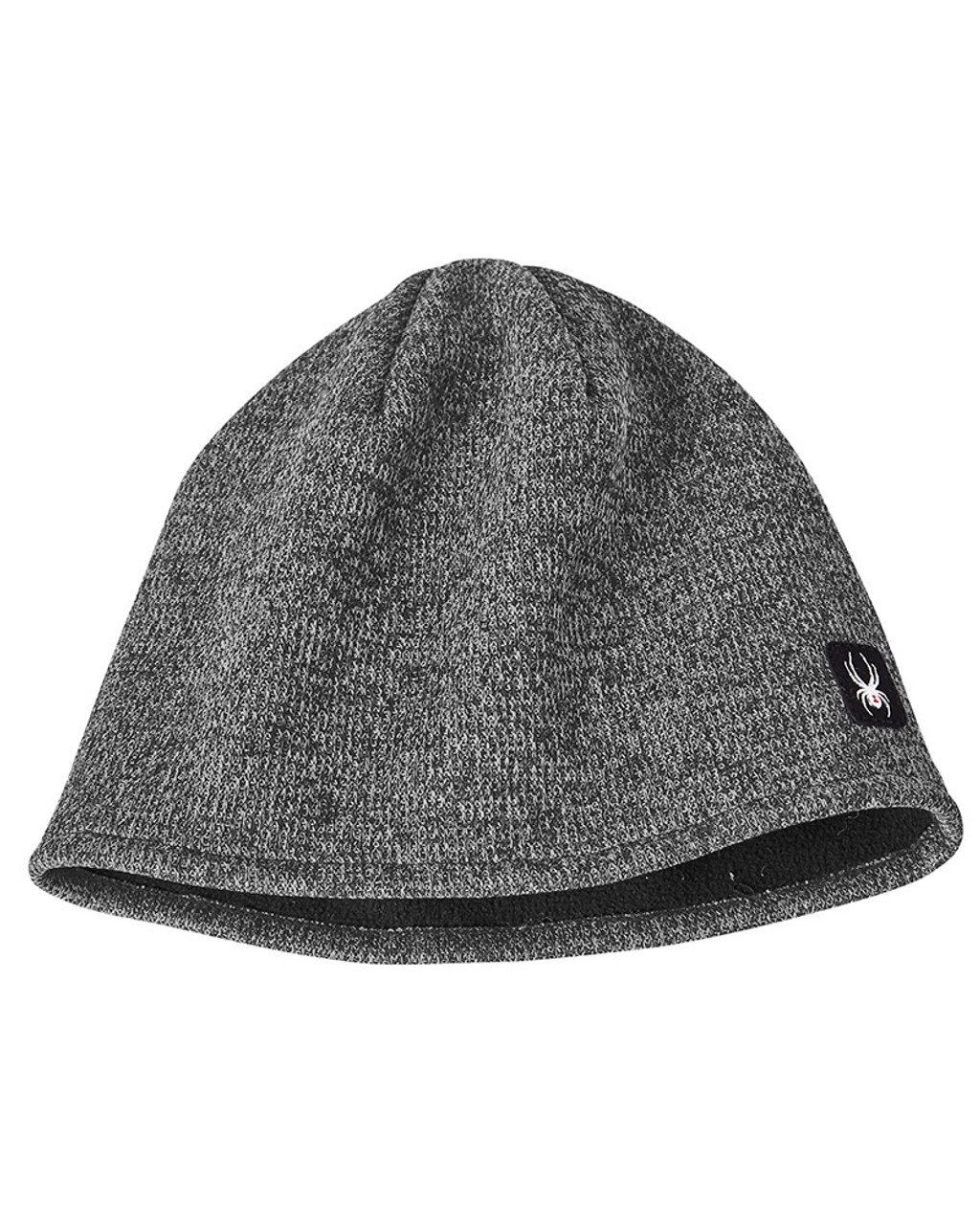 Black Heather - SH16794 Spyder Adult Constant Sweater Beanie | Blankclothing.ca
