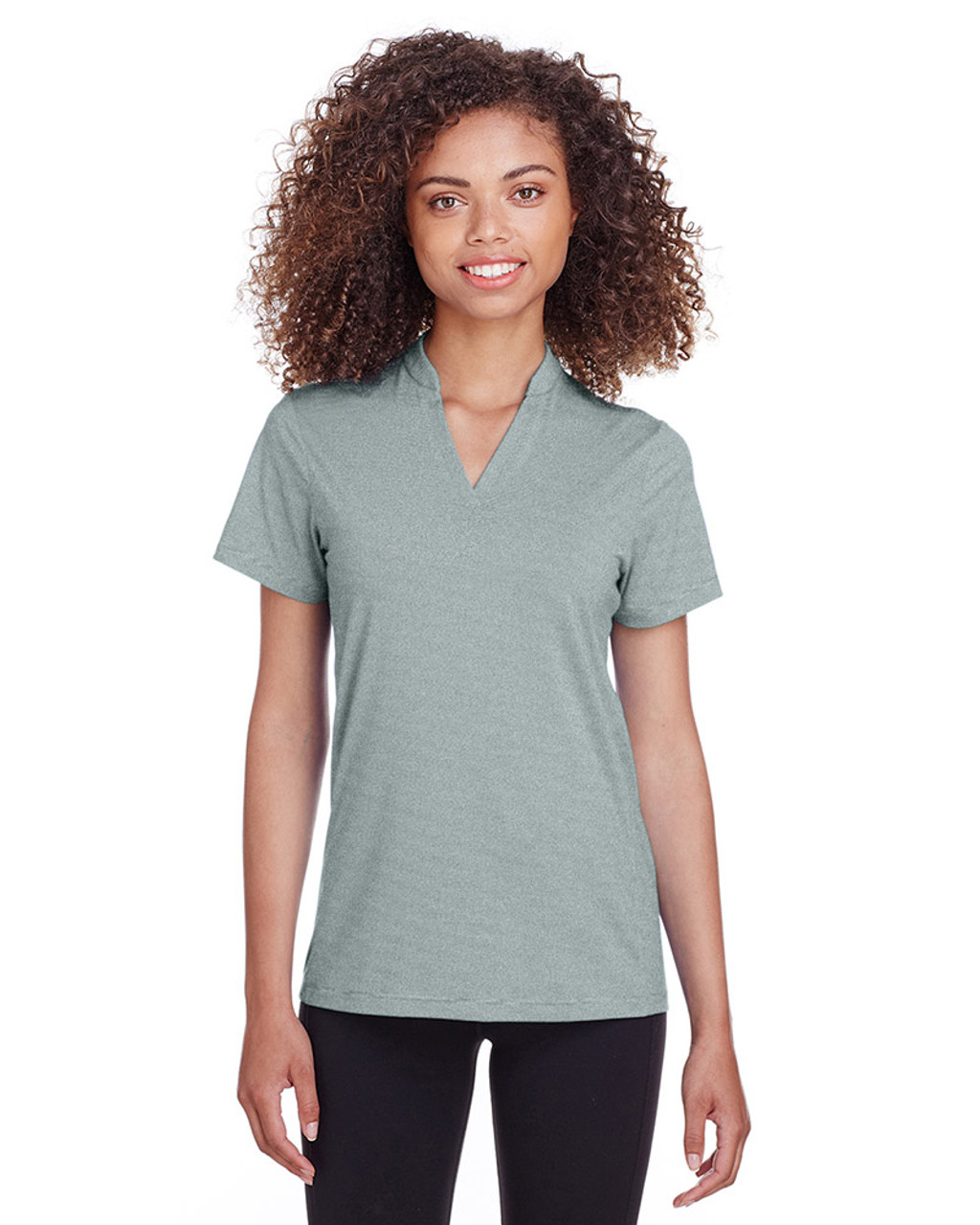 Frontier Stripe - S16563 Spyder Ladies' Boundary Polo | Blankclothing.ca