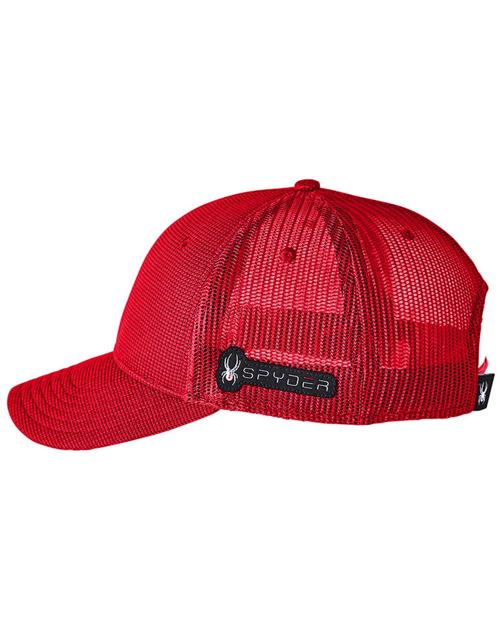 Red - SH16791 Spyder Adult Constant Sweater Trucker Cap   BlankClothing.ca
