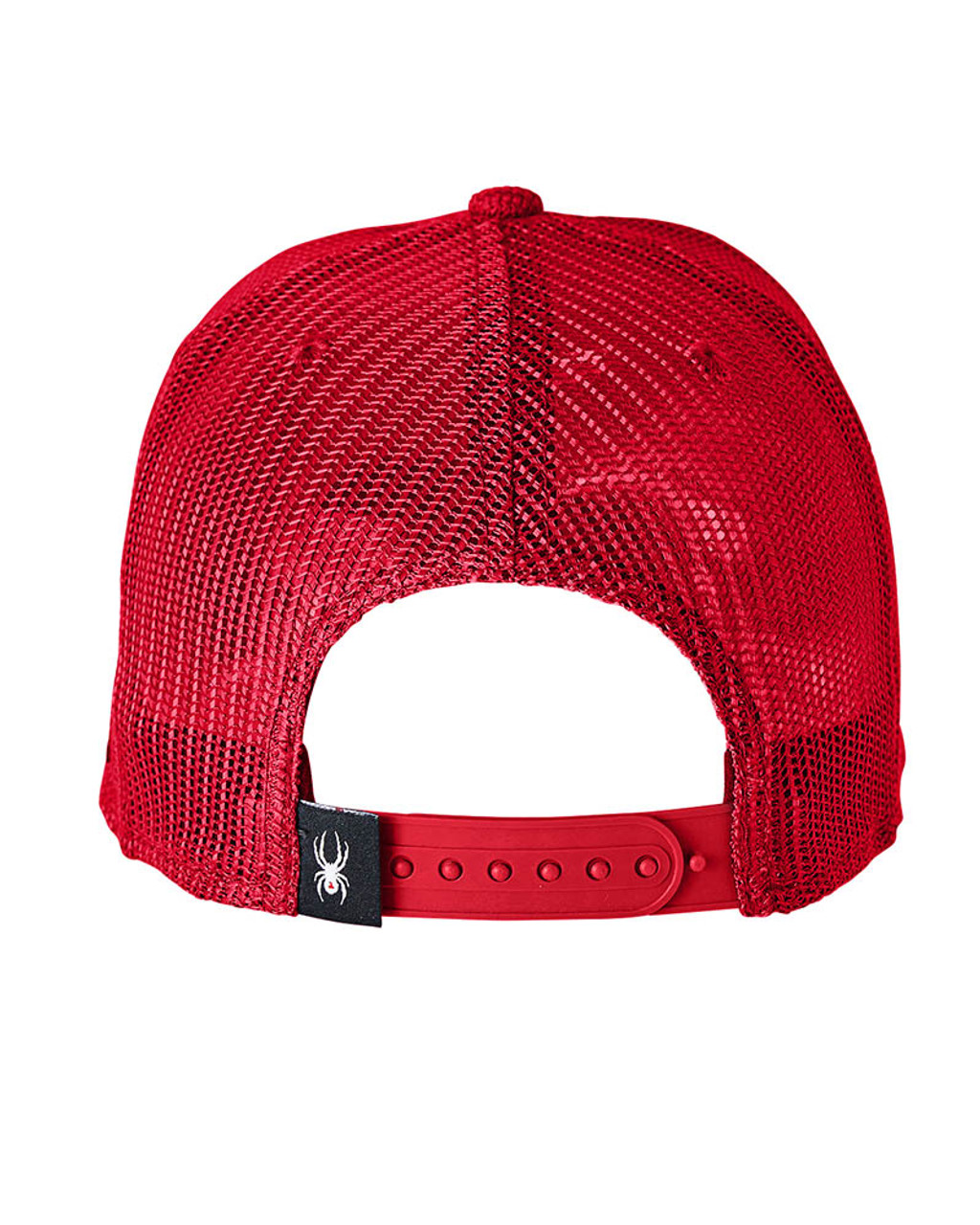 Red - Back, SH16791 Spyder Adult Constant Sweater Trucker Cap   BlankClothing.ca