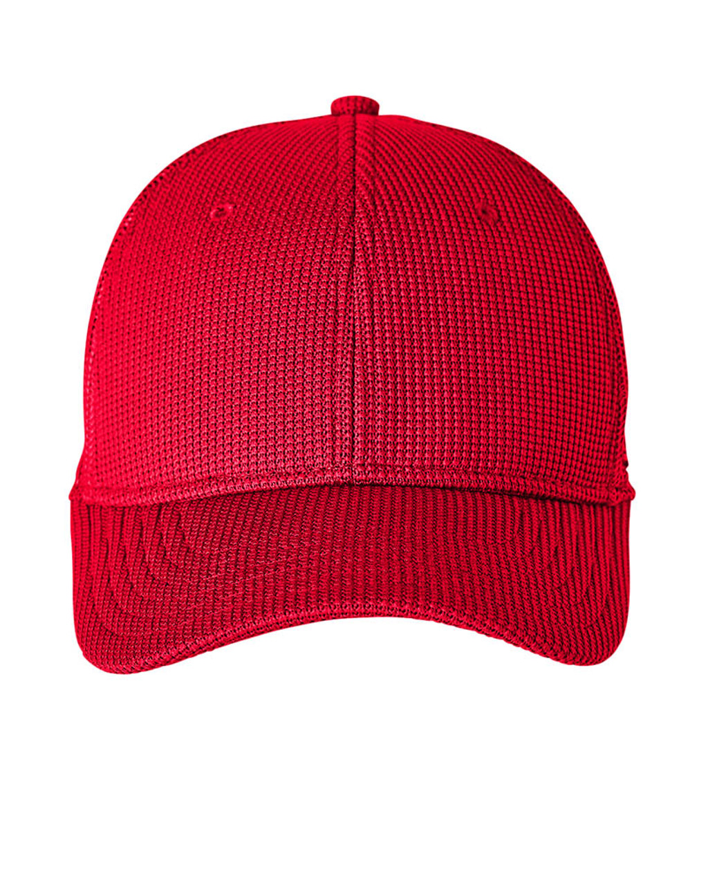 Red - Front, SH16791 Spyder Adult Constant Sweater Trucker Cap   BlankClothing.ca