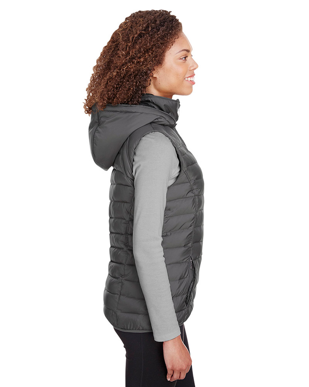 Polar - side, S16641 Spyder Ladies' Supreme Puffer Vest | Blankclothing.ca
