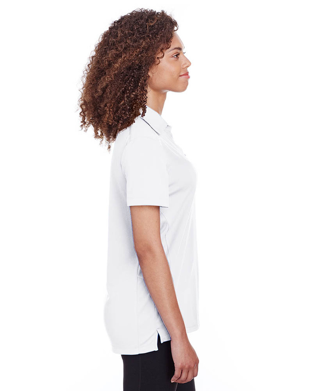 White - Side, S16519 Spyder Ladies' Freestyle Polo | BlankClothing.ca