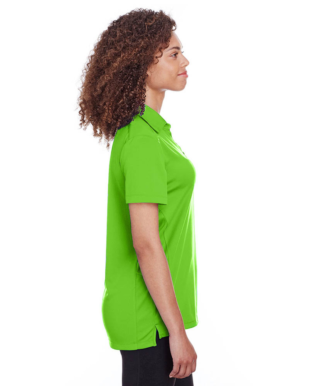 Lime - Side, S16519 Spyder Ladies' Freestyle Polo | BlankClothing.ca
