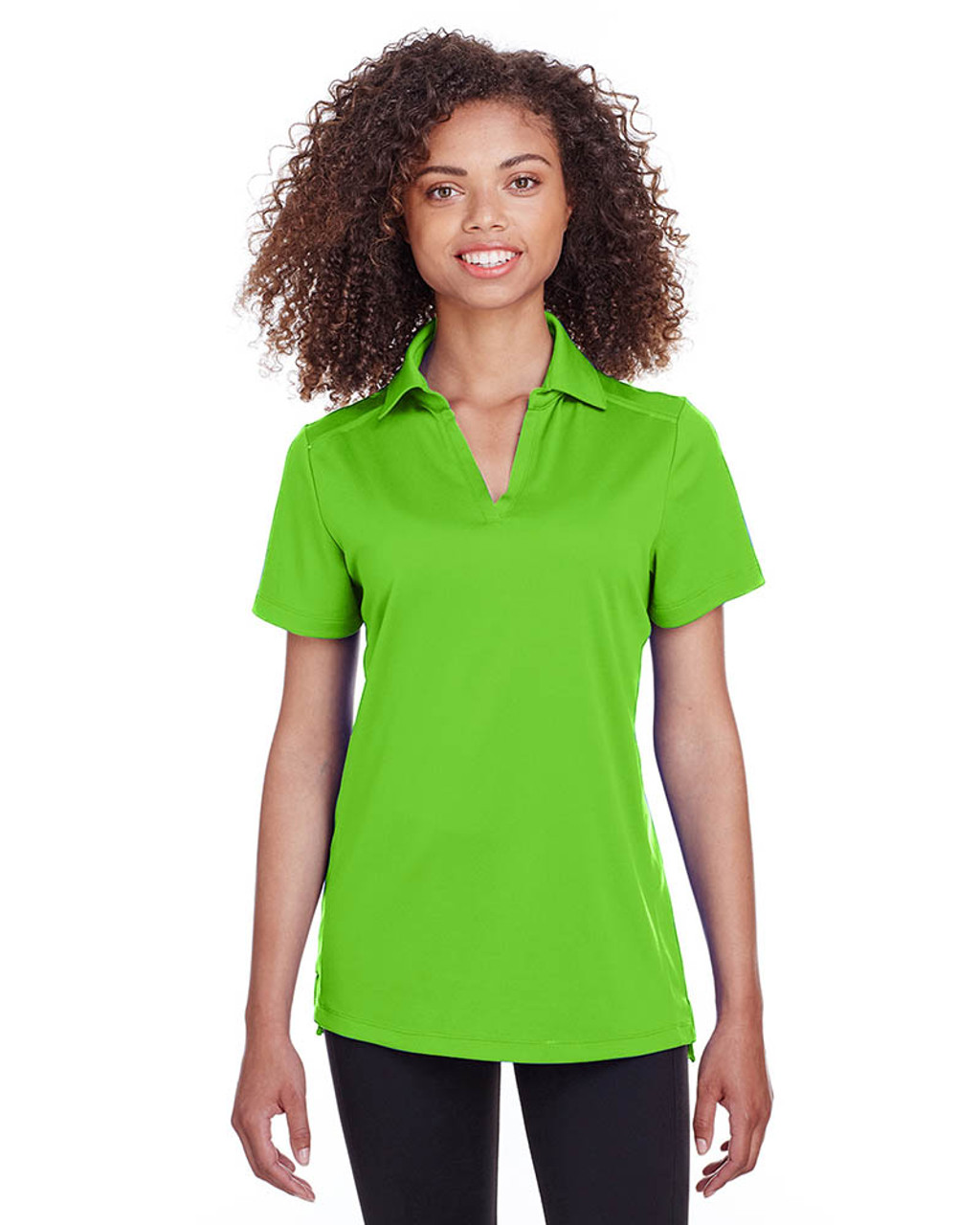 Lime - S16519 Spyder Ladies' Freestyle Polo | BlankClothing.ca
