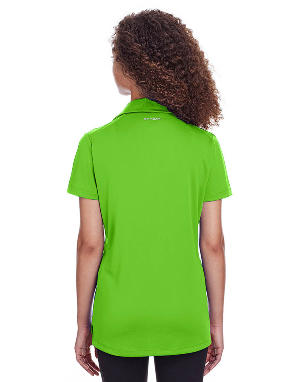 Lime - Back, S16519 Spyder Ladies' Freestyle Polo | BlankClothing.ca