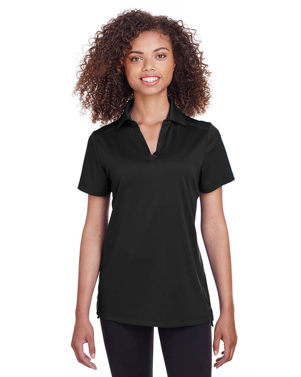 Black - S16519 Spyder Ladies' Freestyle Polo | BlankClothing.ca